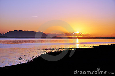Sunset at Inch, Co. Kerry, Ireland