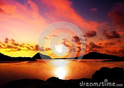 Sunset Islands