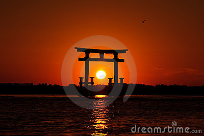 Sunset Japan Gate 02