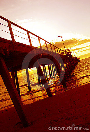 Sunset Jetty