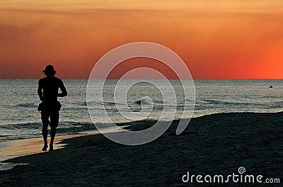 Sunset Jog