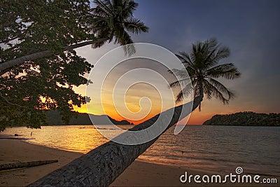 Sunset of Koh Mak