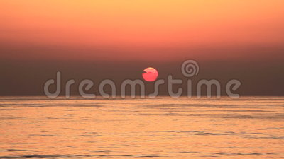 Sunset at Lebanon stock video