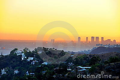 Sunset, los angeles