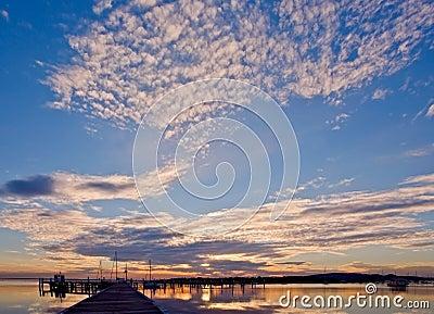 Sunset Nautical Theme