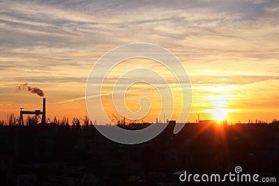 Sunset in Nikolaev