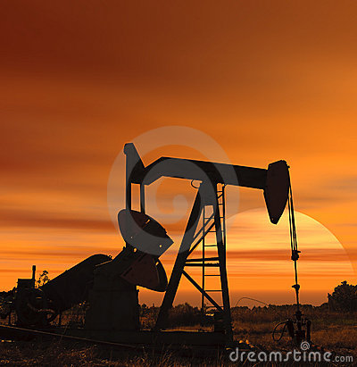 Sunset for oil
