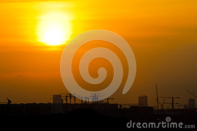 Sunset over the industry