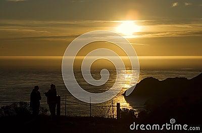 Sunset over Marin Headlands