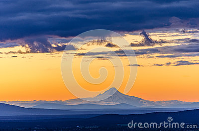 Sunset over Mt. Hood