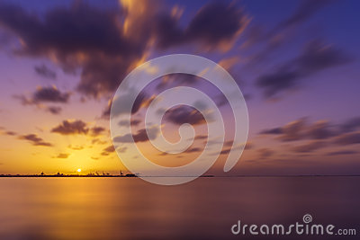 SunSet over Seascape