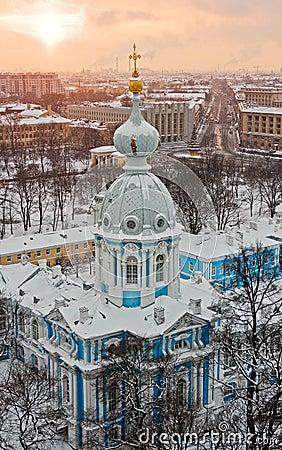 Free Sunset Over St. Petersburg Stock Photos - 12452703
