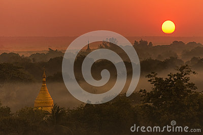 Sunset - Bagan - Myanmar (Burma)