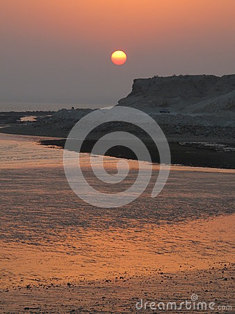 Sunset Persian Gulf