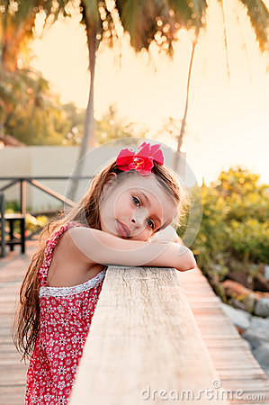 Free Sunset Portrait Royalty Free Stock Images - 61548969