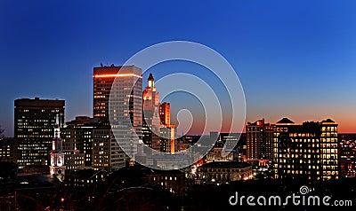 Sunset on Providence