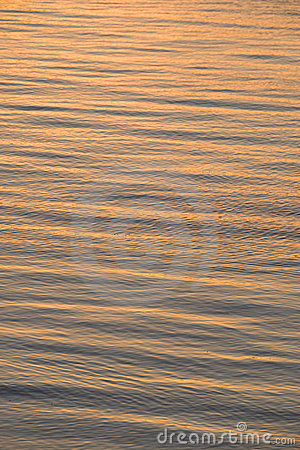 Sunset reflection on sea