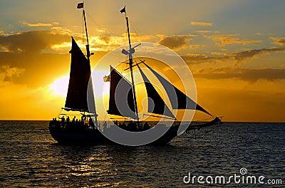 Sunset Sail II