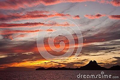 Sunset san carlos mexico