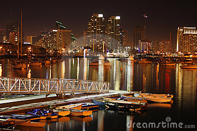 After sunset, San Diego, Ca