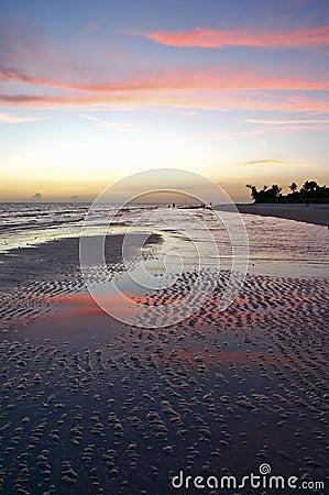 Sunset on Sanibel