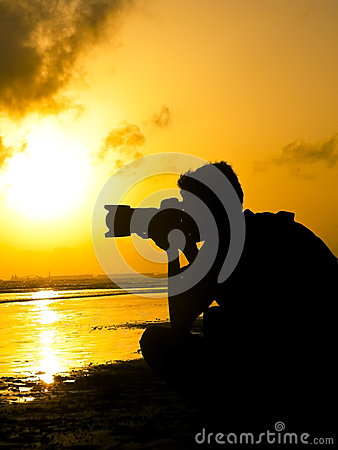 Free Sunset Shooter Stock Images - 27963674