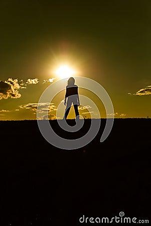 Free Sunset Silhouette Stock Photos - 11718003