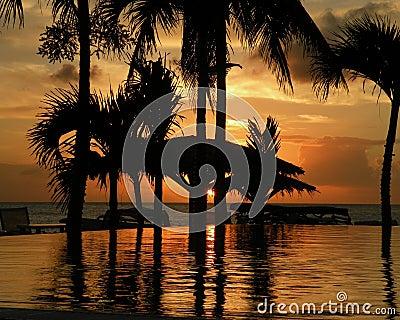 Sunset in St. Maarten 2