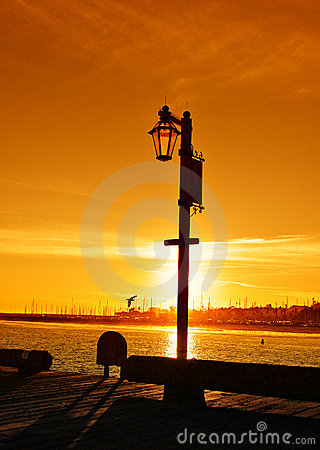 Sunset at Stearns Wharf