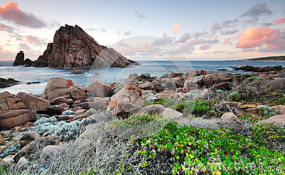 Sunset at Sugarloaf Rock Western Australia