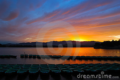 Sunset in Summer Palace
