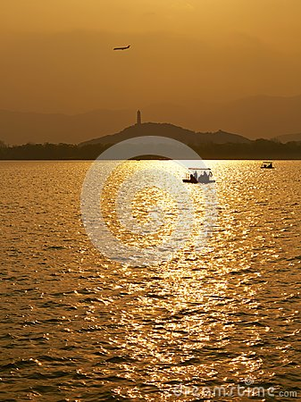 Free Sunset Summer Palace, Beijing, China Stock Images - 104809664