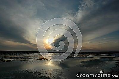 sunset of a sun