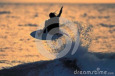 Sunset Surfer 1