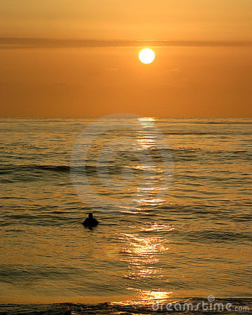 Sunset Surfer I