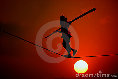 Sunset Trapeze