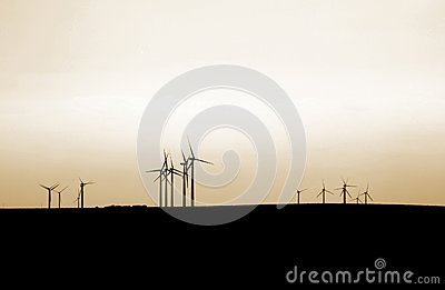 Sunset turbines