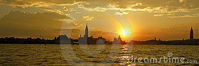 Sunset on Venice