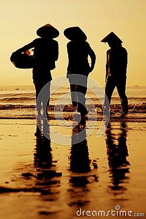 Free Sunset Vietnam Royalty Free Stock Photos - 3893878