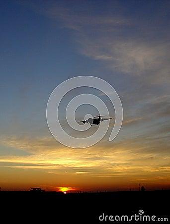Sunset vs. Airplane