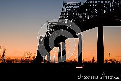 Sunshine Bridge at Sunset