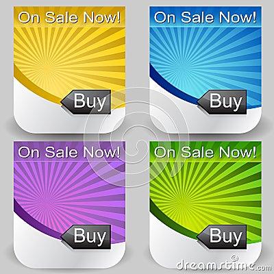 Sunshine Buy Button Set