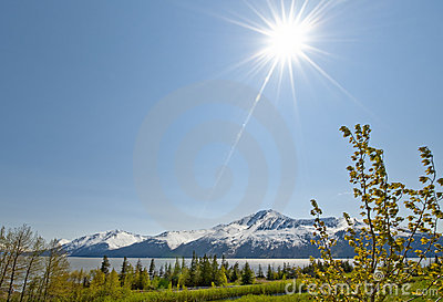Sunshine over Turnagain Arm