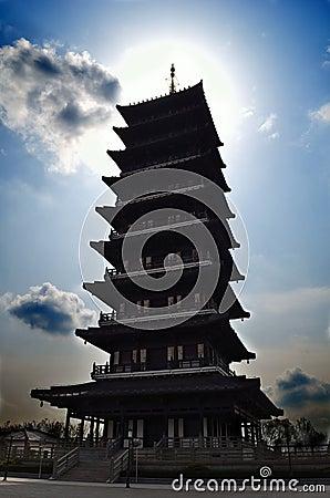 Sunshine pagoda