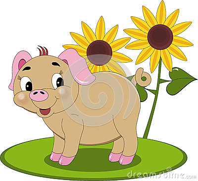 Sunshine Piglet
