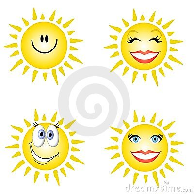 Stock Photos: Sunshine Smiley Faces