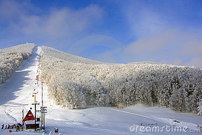 Sunshine Snow Center at Pisoderi, Florina, Greece