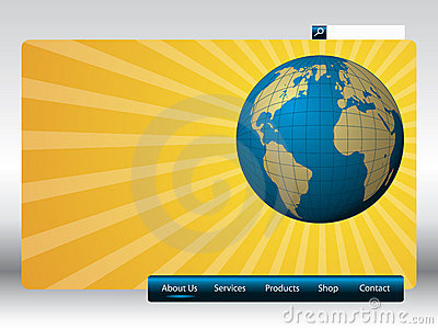 Sunshine web template