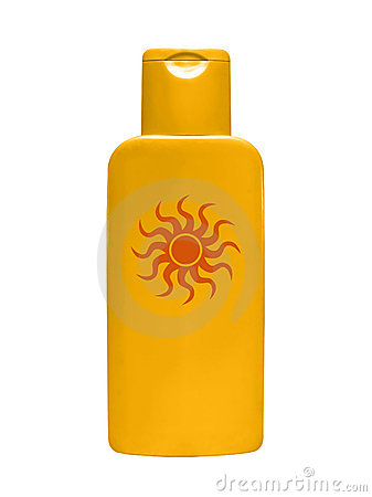 Free Suntan Cream Royalty Free Stock Image - 2064106