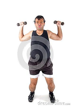 Free Super Athlete Royalty Free Stock Image - 2393446